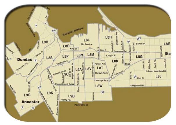 Flyer Distribution Maps Gtaflyers Com